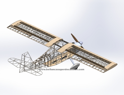 Xtreme Decathlon - steel tubes construction - drawing_2